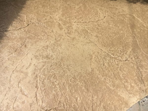 Béton décoratif - Béton empreinte / imprimé